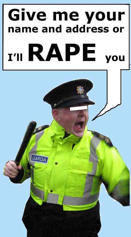 �Give me your name and address or I�ll rape you� - CORRIBGATE