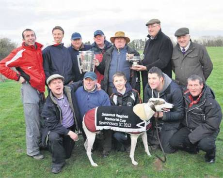 "Environment Minister Phil Hogan at ""Sevenhouses"" hare coursing event"