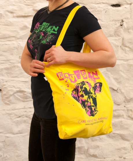 Vegan Ireland Tote Bag