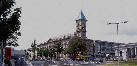 Dun Laoghaire Town Hall - Location of DLR County Council offices (image: Wikimedia Commons)