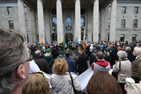 RSF National 1916 Commemoration, GPO Dublin, Saturday 23rd April 2016.
