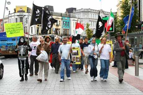 Anti War March Cork