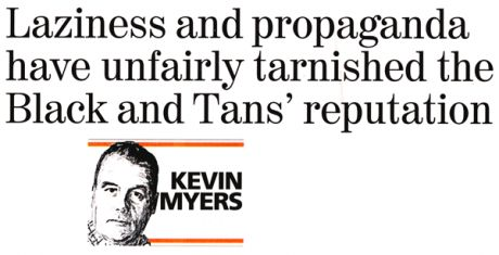 """Lazyness and propaganda"": something Kevin Myers knows a lot about"