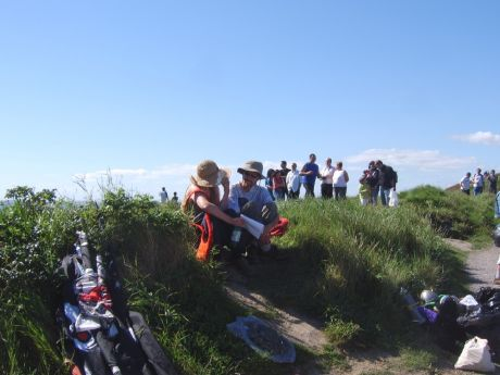 Enjoying the People's Picnic at the Old Head