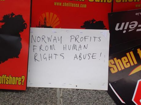 Statoil shames Norway- protesters are beaten and jailed for opposing Statoil/Shell scheme