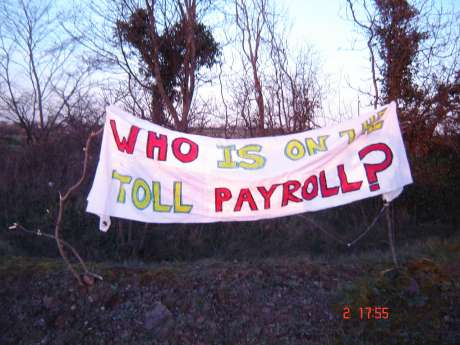 Who is on the Toll payroll?