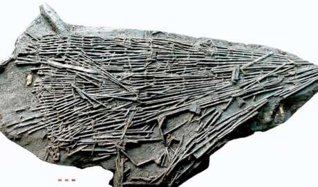 NRA image of Neolithic fishing trap