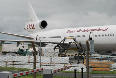 OMNI Air and 200 US troops at Shannon 10Aug09