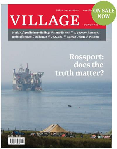 Village magazine- Rossport: does the truth matter?