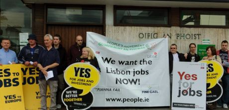 Demo in Newbridge