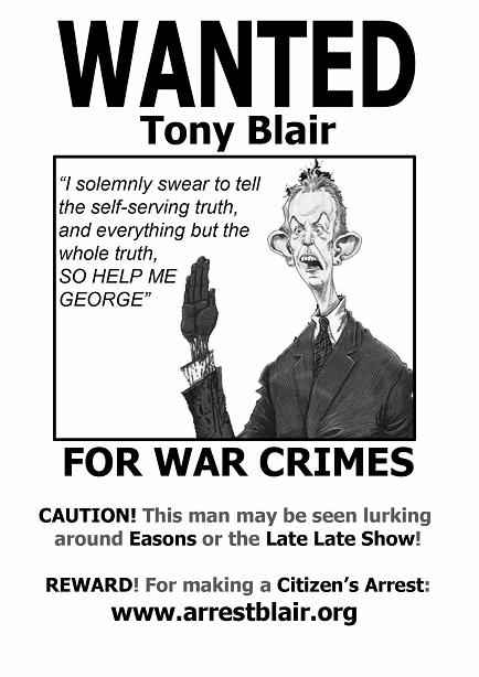 Wanted for War Crimes Poster