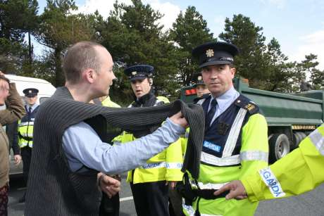 Paul Murphy looking for answers from the guards