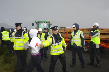 Gardai and IRMS working together