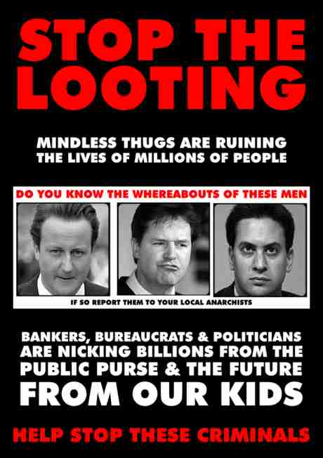 Stop the looting