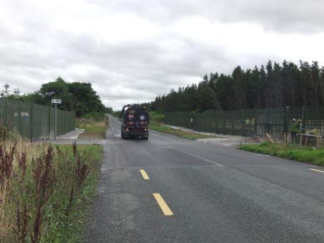 Where pipeline crosses under L1202 road