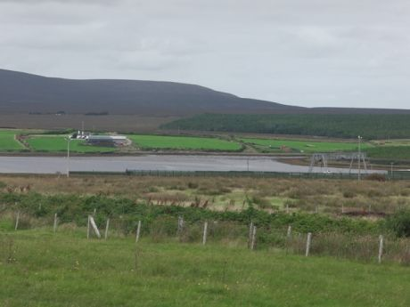Looking across to Rossport - family farms still under threat