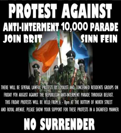 Anti Internment Rally Attacks
