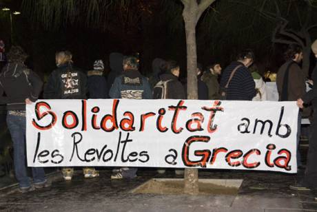 Flames of angry Greek revolt spread to Barcelona