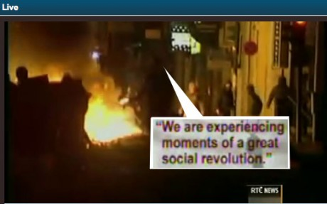 "Greece: ""Ελλάδα (Greece): ""We are experiencing moments of a great social revolution."""