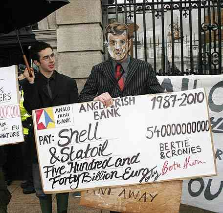 Brian Lenihan taking back money gifted to oil companies as part of his alternative Budget