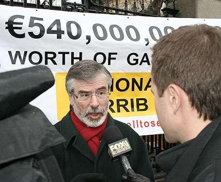 Gerry Adams interviewed by Fox Business TV