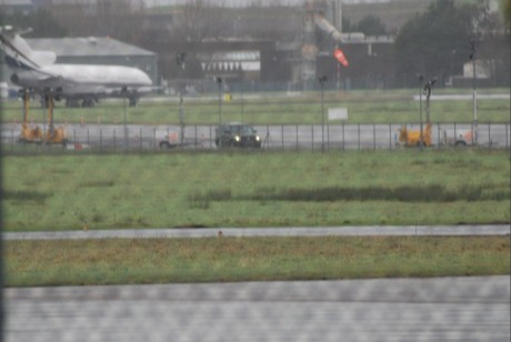 Irish Defence Forces guarding US warplanes at Shannon 30 Dec 2011