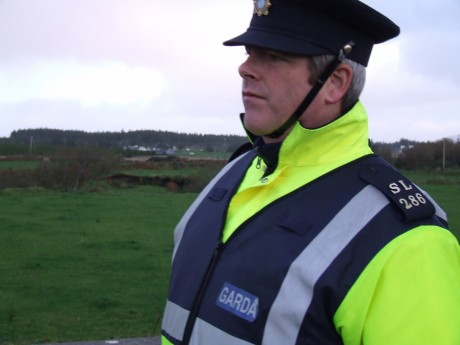 Garda SL286 John Sweeney who Pat O'Donnell accused of being involved in the breaking 3 of his ribs