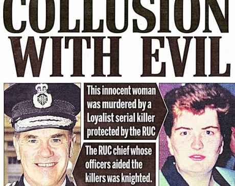Britain's Murder of Human Rights Lawyers in British Bccupied Ireland