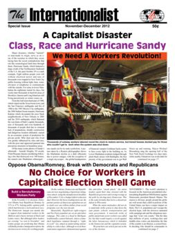 The Internationalist November-December 2012
