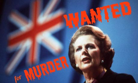 Margaret Thatcher's Government Murdered Human Rghts Lawyers