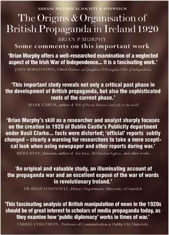 Comments on Brian Murphy's research