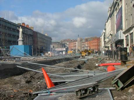 "O Connell Street ""Regenerated"""