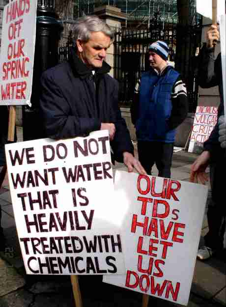 Seems A Well Known Irish Spring Water Company Have Been Sniffing Around Their Spring - I Sense A Dodgy Deal In The Offing