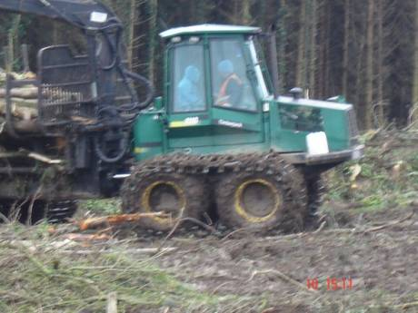 Work at Lismullin Wood in the Gabhra Valley