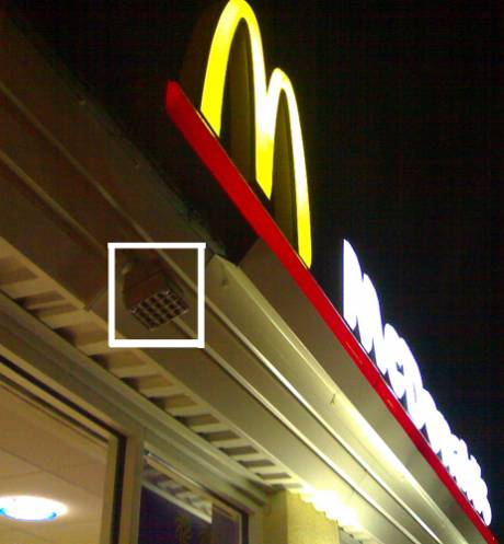 The Mosquito device is used by Mc Donald's in Letterkenny