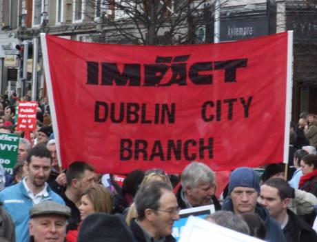 Impact Dublin City  - fetching banner colours!