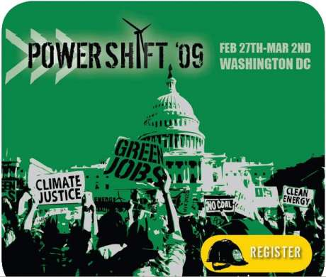 Powershift '09 : The largest act of civil disobedience to happen in the US this Monday!!!