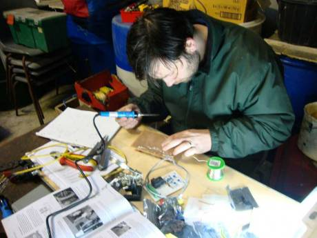 Making the Control board used to protect the batteries