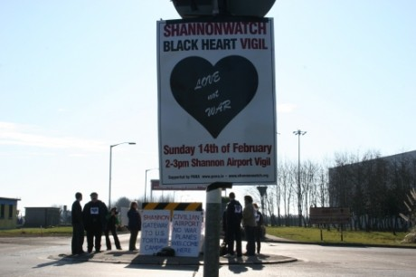 Black Hearts vigil begins at Shannon
