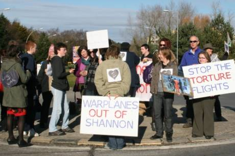 Gathering at Shannon