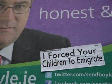 Dan Boyle - I Forced Your Children To Emigrate