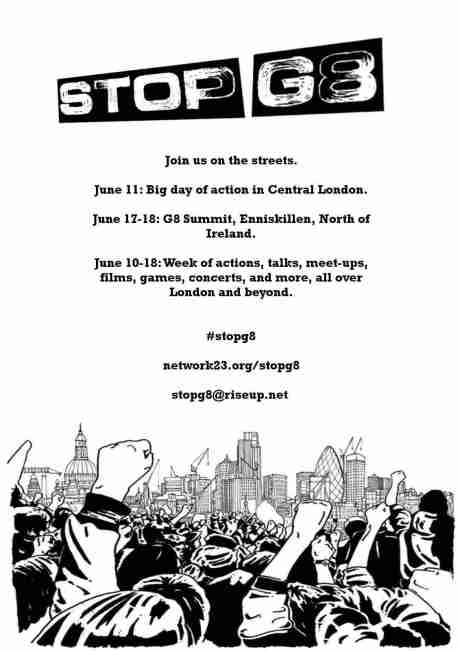 #stopG8 - One common struggle