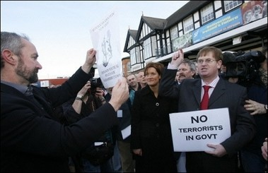 Willie 'I love Ulster' Frazer only supports (unionist) terrorists in the police force