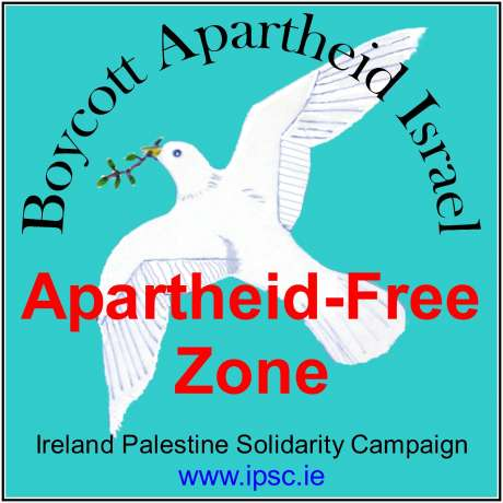 Make your  town an apartheid-free zone