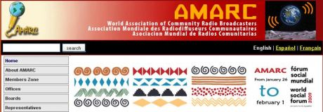 AMARC - live radio coverage from WSF 09, Bel�m, Brazil