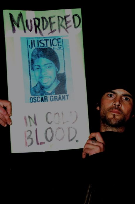 Justice for Oscar Grant; Murdered in cold blood,