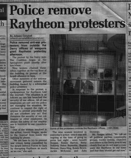 "As usual, the ""Derry Journal"" performs alchemy for Raytheon"
