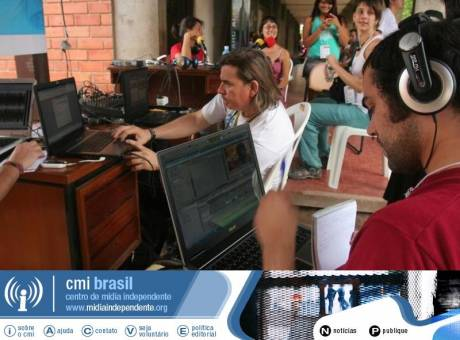 CMI-BRASIL : IMC-BRAZIL media space @ WSF 09