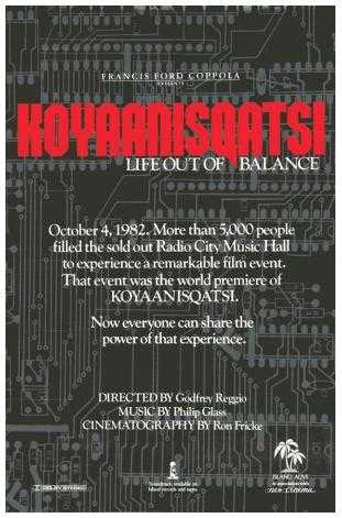 Koyaanisqatsi  (Life out of Balance)