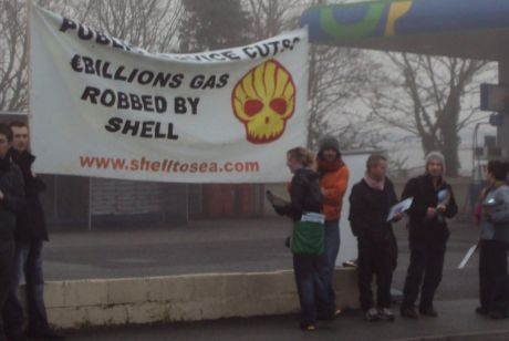 Shell to Sea Activists